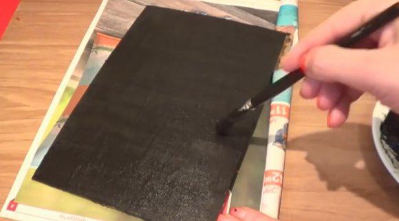 Изготовление грифельной доски своими руками