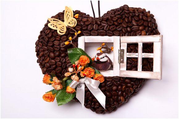 Поделка из кофе