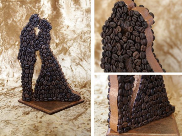 Поделки из кофе и картона