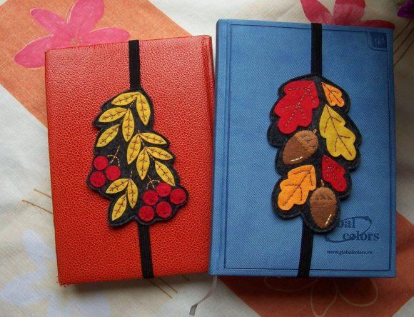 Книжные закладки на резинках