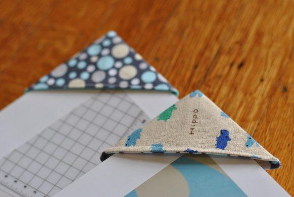 Книжные закладки из ткани