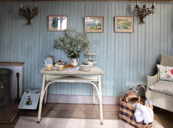 Интерьер дачного домика в стиле прованс