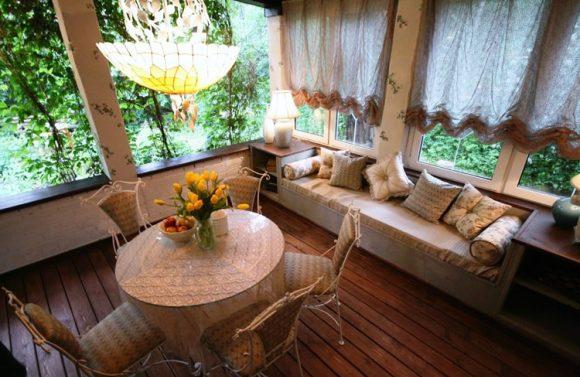 Интерьер дачного домика во французском стиле