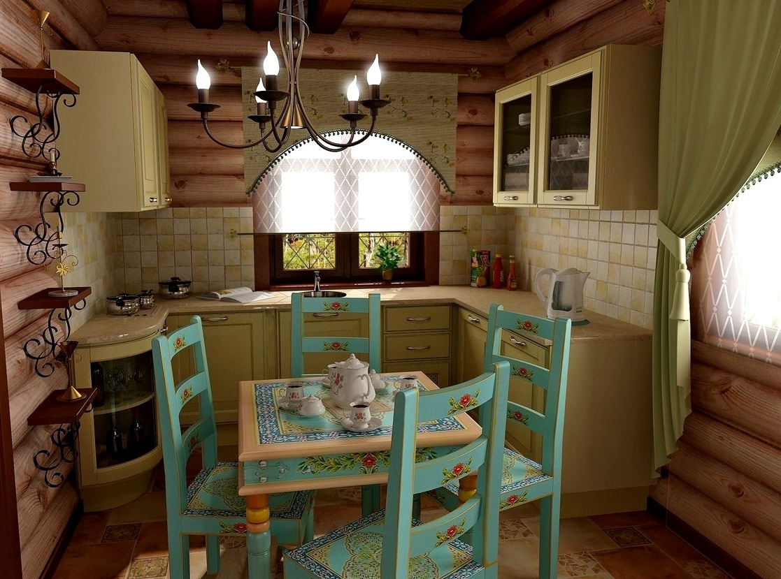 Интерьер дачного дома картинка