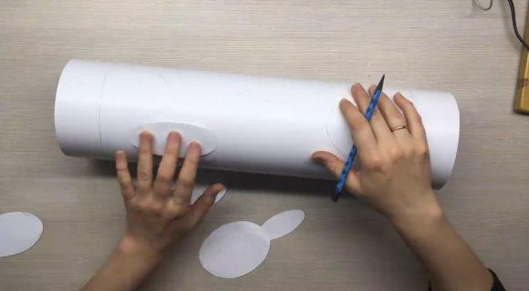Нанесение рисунка по шаблонам