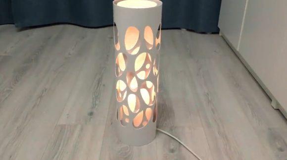 Собранный светильник