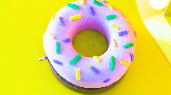 Силиконовый пончик