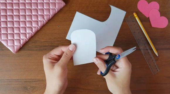 Заготовка из картона