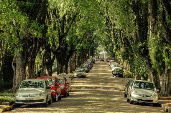 Зелёная улица в Бразилии