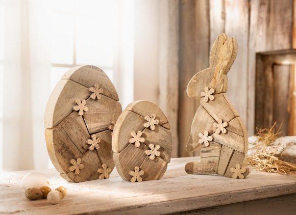Пасхальные поделки из дерева