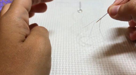 Плетение браслета-косички из бисера