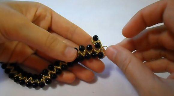 Плетение широкого браслета своими руками