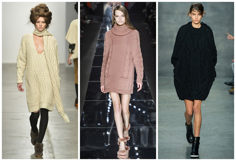 Вязаные платья: удобно и красиво зимой и летом