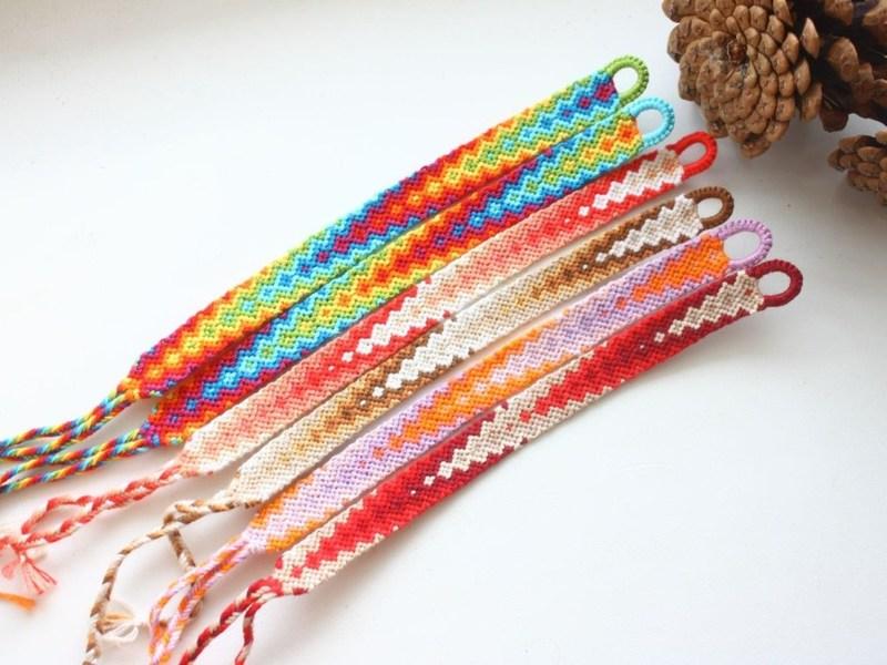 Плетение браслетов из ниток своими руками