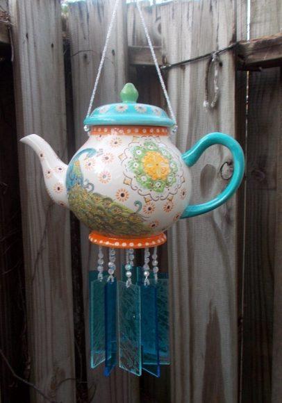 Поделка из чайника для дачи