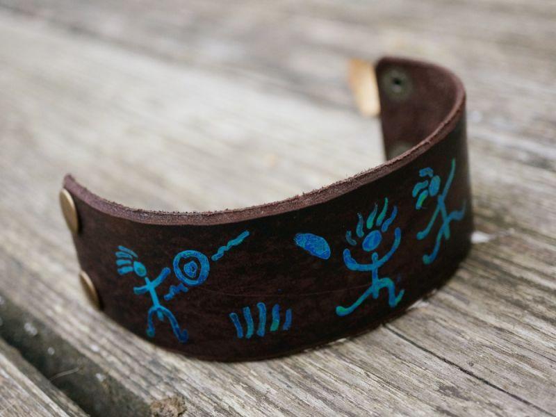 Оригинальные браслеты из ремней, сделанные своими руками