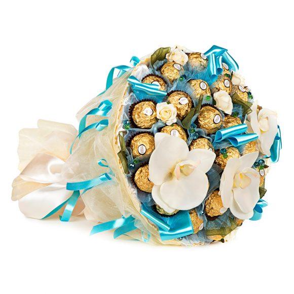 Букет из конфет на последний звонок для учителя