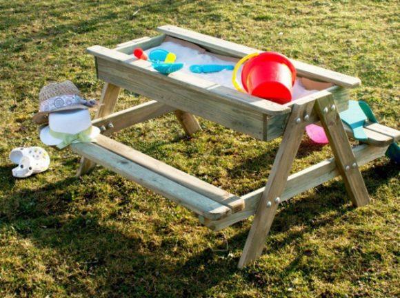 Песочница-столик