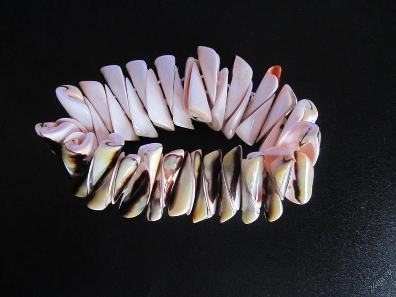 Идеи по изготовлению браслетов из ракушек своими руками