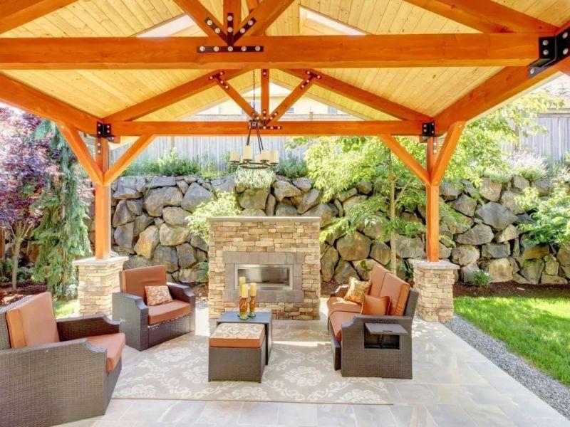 Обустройство летней кухни на даче: идеи и советы с фотографиями