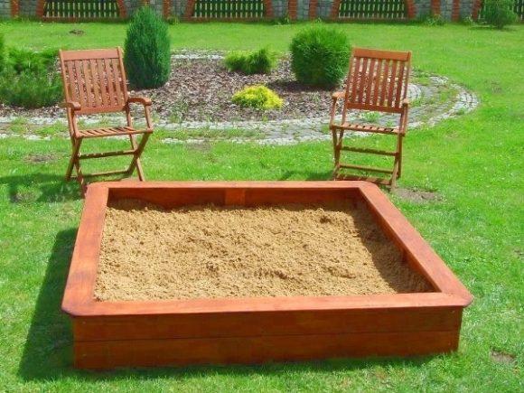 Прямоугольная песочница