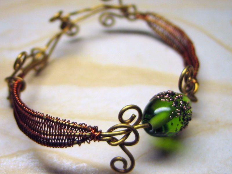 20 оригинальных идей для плетения браслетов из проволоки