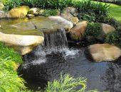 Водопад на загородном участке