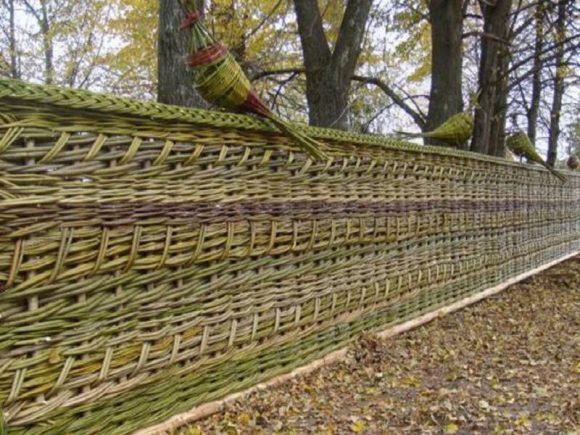 декоративный забор для дачи своими руками