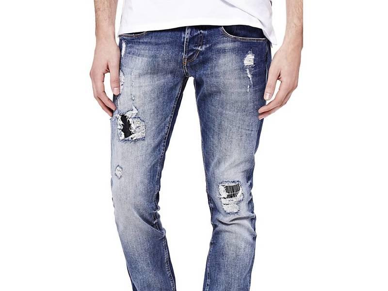 Как сделать потёртости на джинсах в домашних условиях
