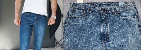 Вываривание джинсов