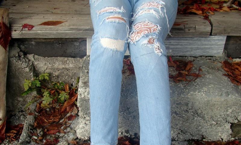 Как сделать заплатку на джинсах: 20 оригинальных вариантов