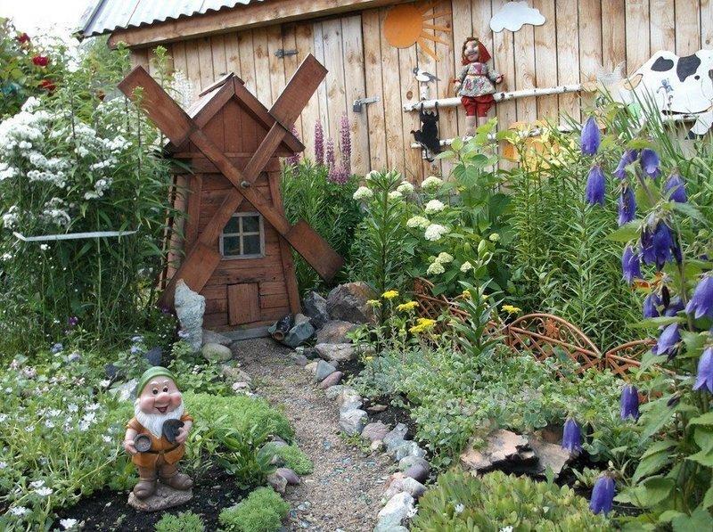 Крылатое подворье: идеи мельницы для сада своими руками