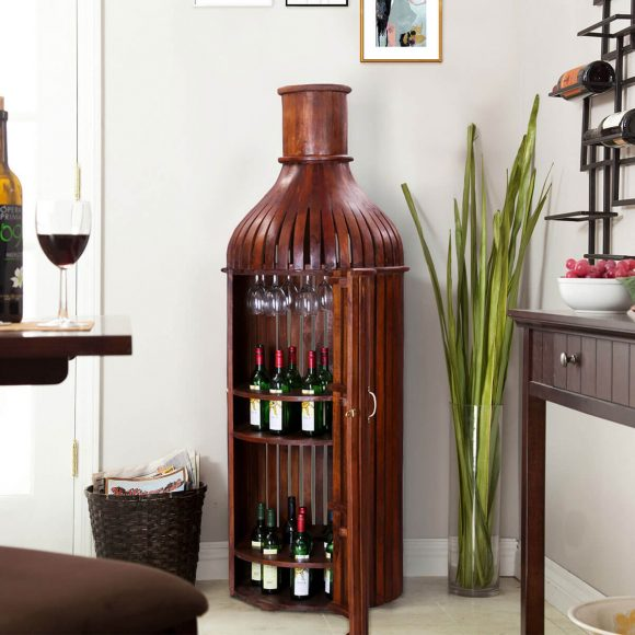 Шкаф в виде бутылки