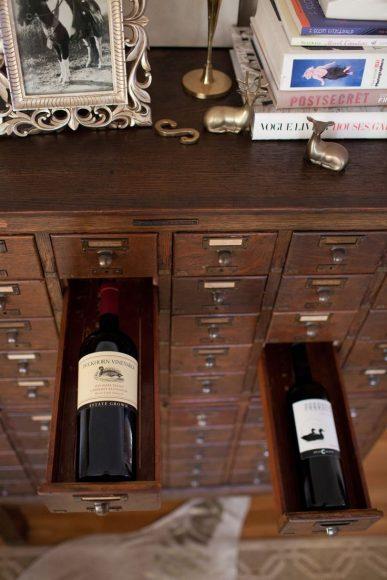 Шкаф для бутылок