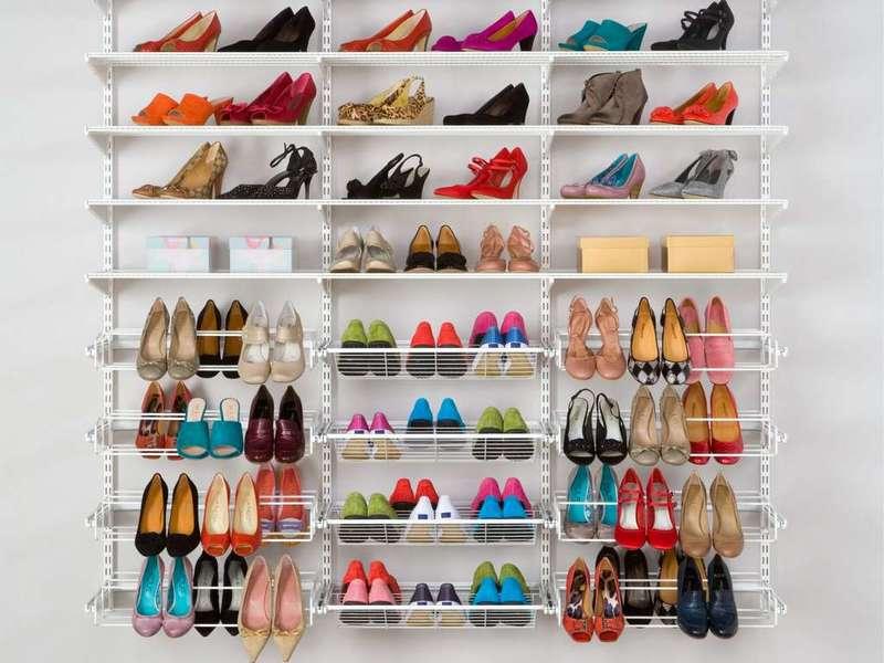 Эргономичные и оригинальные идеи для хранения обуви: подборка фотографий