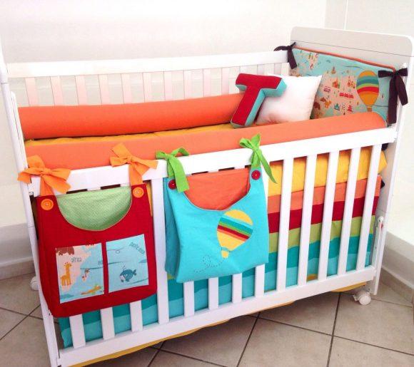 Маленькие органайзеры для детской кроватки