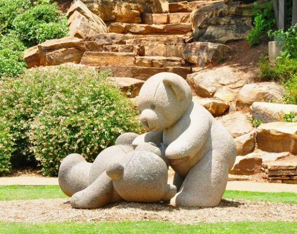 Бетонные скульптуры в ландшафтном дизайне