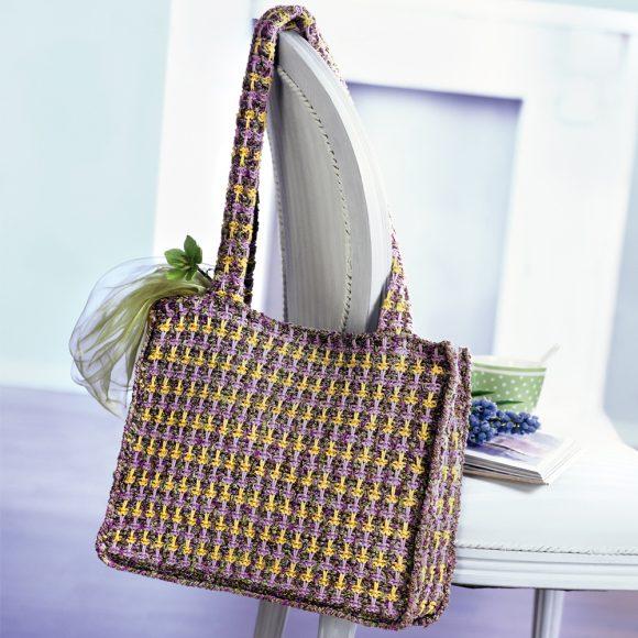 Трёхцветная сумка