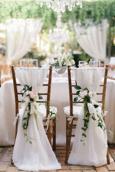 Свадебные украшения в стиле модерн