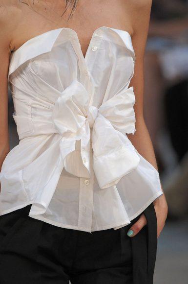 Простая переделка мужской рубашки