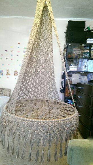 кресло макраме