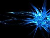 Кристалл синего цвета