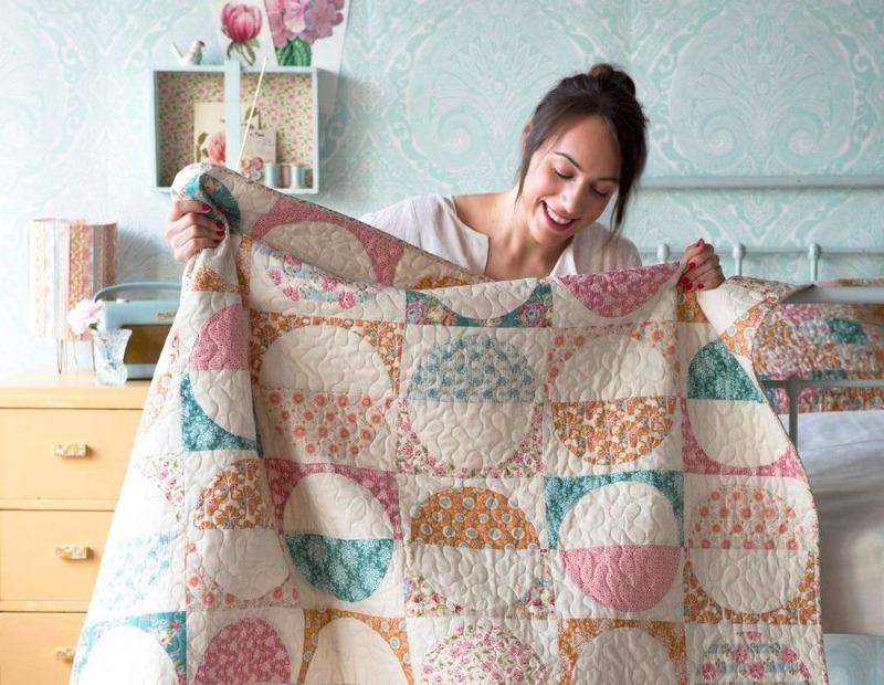 Как быстро сшить лоскутное одеяло в стиле пэчворк своими руками