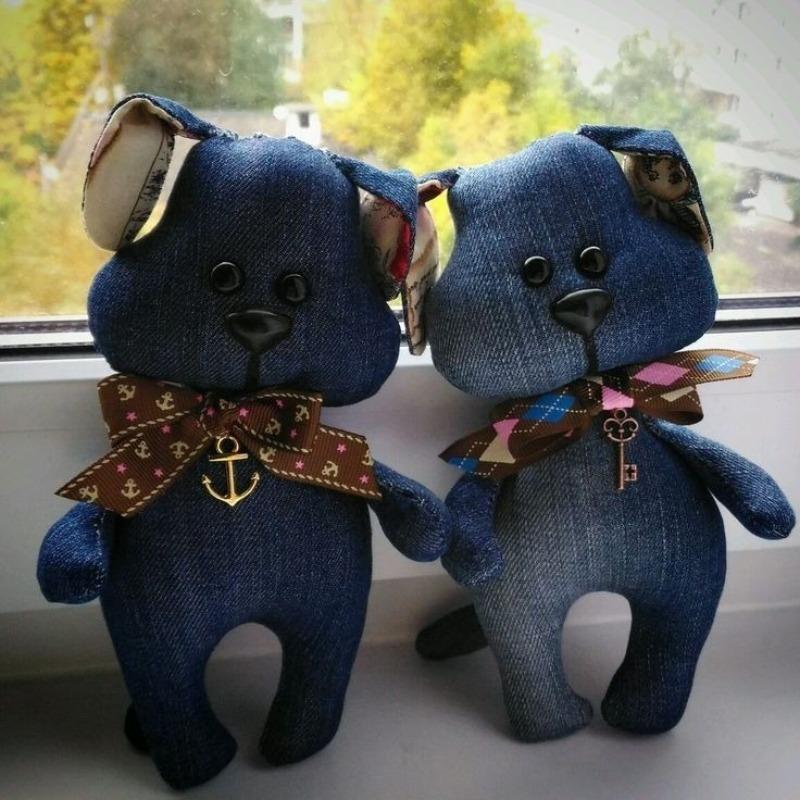 Джинсовые медведи