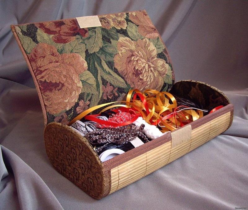 Шкатулка для украшений из подручных материалов: мастер-класс и идеи для творчества