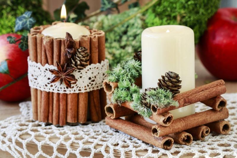 Из чего сделать елочные игрушки, которые будут приятно пахнуть