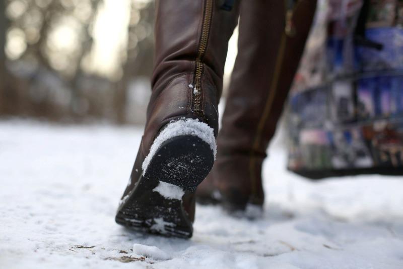 Чтобы обувь не скользила: 5 простых и быстрых способов
