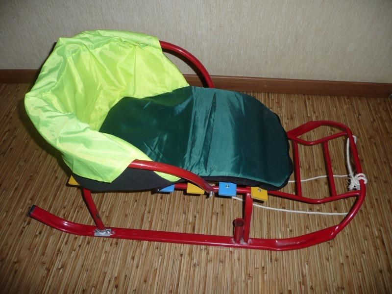 Как сделать теплое сиденье на санки без выкройки и швейной машинки