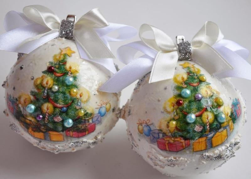 Новогоднее чудо: как сделать «снежный шар» своими руками